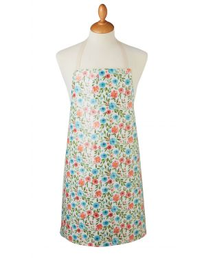 Country Floral Apron with wipe clean coating