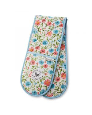 Country Floral Double Oven Glove